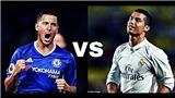 CẬP NHẬT sáng 19/6: Chelsea dùng Hazard để lấy Ronaldo. Perez vẫn làm chủ tịch Real. Man United mua thêm 4 ngôi sao