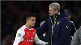Sanchez kêu 'ốm' khi Wenger yêu cầu trở về Arsenal