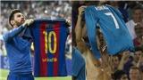 'Ronaldo ám ảnh Messi tới mức sao chép cả màn giơ áo ăn mừng'