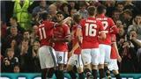 Man United 4-1 Burton: Rahsford lập cú đúp, M.U tiếp đà hưng phấn