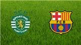 Link xem trực tiếp trận Sporting CP -  Barcelona (01h45, ngày 28/9)