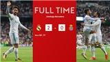 ĐIỂM NHẤN Real Madrid 2-0 Espanyol: Ronaldo im lặng, Isco tỏa sáng. Niềm vui trở lại Bernabeu