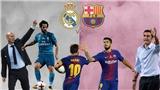 Xem trực tiếp Siêu Cúp Tây Ban Nha, Real Madrid - Barcelona (04h00, ngày 17/8)