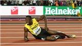 Usain Bolt chấn thương ở lần chạy cuối cùng trong sự nghiệp