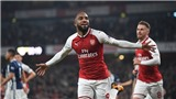 ĐIỂM NHẤN Arsenal 2-0 West Brom: Lacazette thật đáng tiền. Sanchez đá như chờ ngày ra đi