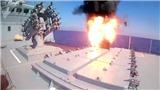 VIDEO: Xem tàu khu trục Nga 'trút mưa' tên lửa hành trình vào hang ổ IS
