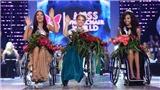 Nữ sinh 23 tuổi đăng quang Hoa hậu ngồi xe lăn thế giới