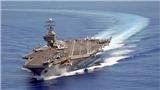 VIDEO: Nhóm tác chiến tàu sân bay của Mỹ đang tiến đến Triều Tiên