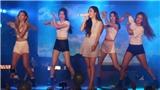 Khán giả Việt đội mưa xem thần tượng Jessica biểu diễn