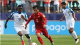 Lương Hoàng Nam: 'Thất bại này sẽ là bài học lớn cho U20 Việt Nam'