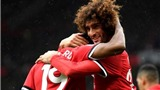 ĐIỂM NHẤN M.U 4–0 Crystal Palace: Với Mourinho, Fellaini quá lợi hại. Martial 'khích tướng' Rashford