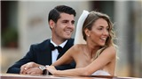 Vợ mới cưới của Morata có hành động đặc biệt, dự báo chồng sắp đến Man United