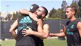 Màn chia tay xúc động của Morata với Zidane và đồng đội ở Real