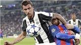 Chất thép Mandzukic là điểm tựa để Juve mơ 'ăn 3'