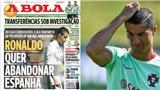 Ronaldo sẽ đi về đâu nếu rời Real Madrid?