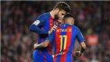 Gerard Pique thú nhận tự ý 'chốt' tương lai của Neymar sau một phút yếu lòng