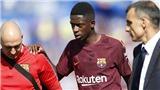Không phải 4 tuần, Barca mất Ousmane Dembele hết năm vì chấn thương