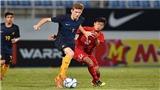 HLV trưởng U15 Việt Nam 'thả tim' chúc mừng học trò đánh bại U15 Australia
