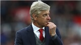 HLV Wenger chua chát khi nói về trận thua của Arsenal trước Stoke