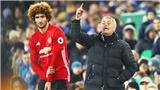 Tin hot M.U 1/10: De Gea lập kỷ lục, Mourinho thay đổi định kiến về Fellaini, Herrera không lo mất vị trí