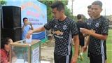 'Sao' FLC Thanh Hóa đá bóng từ thiện cho ngày 27/7