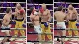 Video Võ sư Nhất Long của Thiếu Lâm hứng 'mưa' đòn từ võ sĩ MMA gây sốt