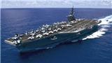 'Triều Tiên sẵn sàng đánh chìm tàu sân bay hạt nhân của Mỹ'