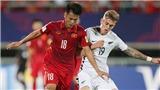Hòa đáng tiếc, U20 Việt Nam vẫn lập kỷ lục tại FIFA U20 World Cup