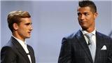 Griezmann chỉ luôn làm 'nền' cho Ronaldo, từ CLB cho đến ĐTQG