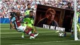 Fan Arsenal khóc thét khi sao West Ham bỏ lỡ cơ hội không thể tin nổi