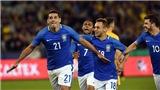 Diego Souza ghi bàn sau 11 giây, Brazil đè bẹp Australia 4-0