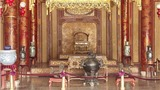 Ngai vua triều Nguyễn trong điện Thái Hòa được công nhận bảo vật quốc gia