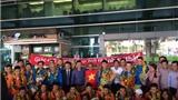 Sau kỳ tích lọt vào World Cup, tuyển futsal Việt Nam được chào đón tại Việt Nam