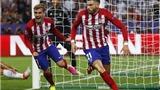 VIDEO: Carrasco ghi bàn gỡ hòa 1-1 cho Atletico Madrid