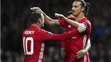 Man United 1-0 Zorya: Ibrahimovic giúp 'Quỷ đỏ' thắng nhọc nhằn