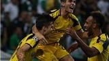 Aubameyang bứt tốc khủng khiếp rồi dứt điểm tinh tế, Dortmund hạ đẹp Sporting Lisbon