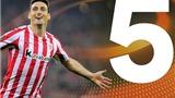 Cũng 35 tuổi như Ibrahimovic, Aduriz của Bilbao lại lập kỷ lục ghi 5 bàn/trận