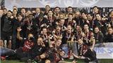 Montella mơ về 'MILAN VĨ ĐẠI' sau chiến thắng Juventus