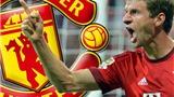 Muller mở đường đến M.U. Arsenal 'tranh hàng' với Juve