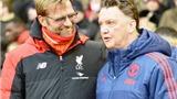NGẠC NHIÊN: Klopp đang có thành tích ngang bằng với... Van Gaal