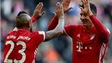 Bayern Munich vùi dập Hamburg 8 bàn không gỡ để mừng cột mốc mới của Ancelotti
