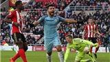 ĐIỂM NHẤN Sunderland 0-2 Man City: Aguero hồi sinh, Silva xứng danh nhạc trưởng
