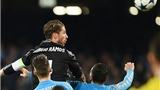 Napoli 1-3 Real Madrid (chung cuộc: 2-6): Sergio Ramos lại là người hùng