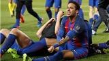Vượt qua Messi, Neymar thay đổi sợi dây số phận của Barca!