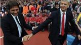 Conte bênh vực Wenger: 'Giành vé dự Champions League mỗi mùa không phải đơn giản'