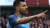 Middlesbrough 0-2 Manchester City: Aguero thông nòng trở lại, Man City vào Bán kết FA Cup