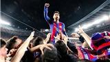 Người ta vội tổ chức tang lễ, nhưng Barca đã đội mồ sống lại. Và mơ 'ăn ba'