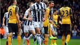 9 cầu thủ Arsenal buông xuôi, đứng nhìn West Brom ghi bàn