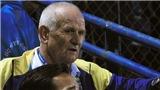 HLV Petrovic của FLC Thanh Hóa bị cấm chỉ đạo vì phản ứng với trọng tài