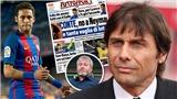 Conte 'phá hoại' vụ chuyển nhượng BOM TẤN của Neymar sang Chelsea